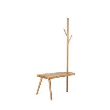 Cedar Bench with Hanger