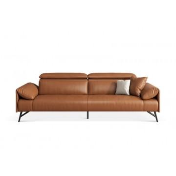 Cory Half Leather Sofa