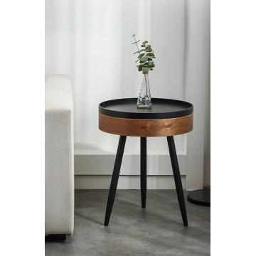 Rory Side Table with Tray